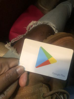 Google Play card ***ACTIVATED for Sale in Atlanta, GA