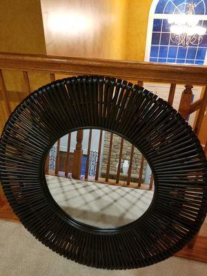 "New 36"" Round Brown Mirror for Sale in Ashburn, VA"