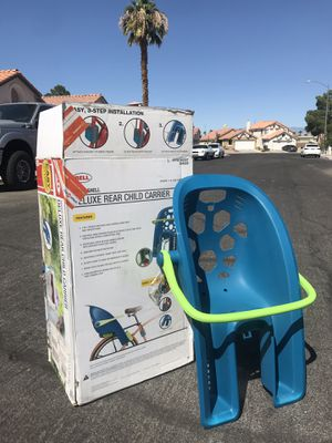 Bell super shell child deluxe carrier for Sale in Las Vegas, NV