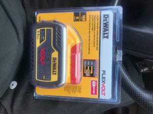 Dewalt flex volt 60 V 9ah battery for Sale in Medford, OR
