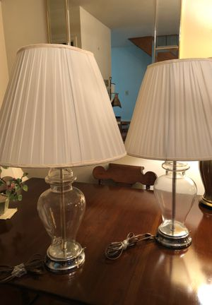 Glass Lamps for Sale in Washington, DC