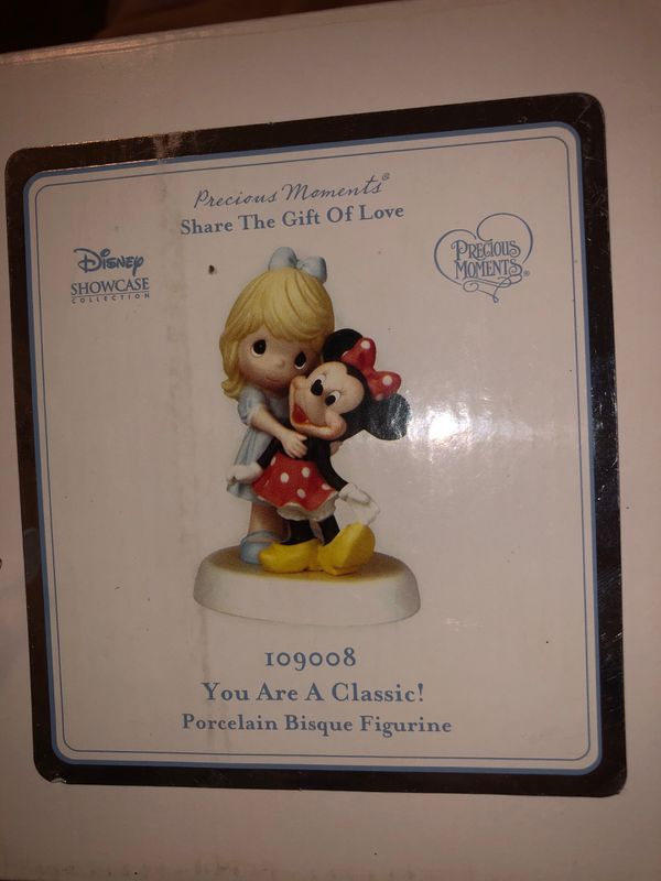 Precious moments Disney showcase you are a classic