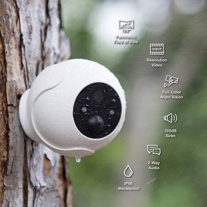 Wireless Rechargeable Battery Powered WiFi Camera, Indoor/Outdoor Home Security Camera with Spotlight, 1080P HD, Motion Detection, Color Night Vision for Sale in Pomona, CA