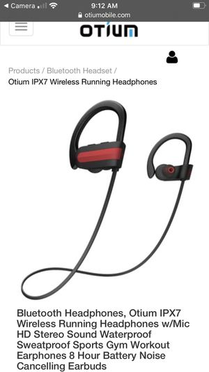Otium wireless sports headphones for Sale in North Andover, MA