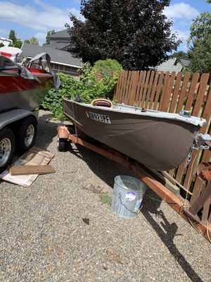 14' Aluminium boat for Sale in Oregon City, OR