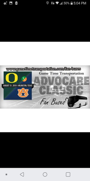 Advocare Classic Transportation - Fan Bus for Sale in Fort Worth, TX
