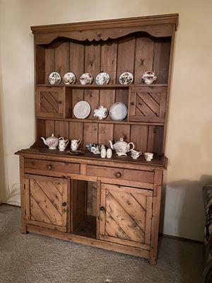 Antique Irish pine cabinet for Sale in Whittier, CA