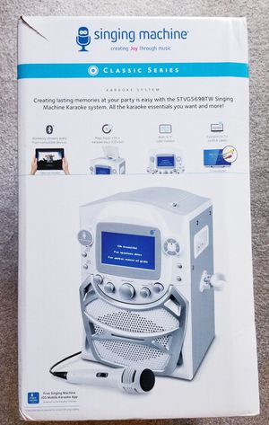 Singing Karaoke TFT Machine with Bluetooth for Sale in NO POTOMAC, MD
