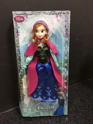 Disney (frozen) Anna sold as is in box for Sale in Whittier, CA