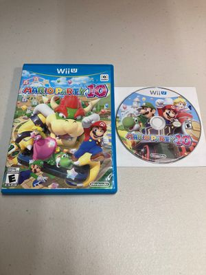 Nintendo Wii U Mario party 10 for Sale in Coral Gables, FL