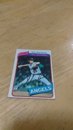 Baseball card for Sale in New Britain, CT
