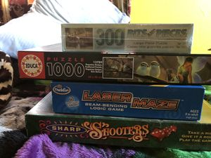 Board games/puzzles for Sale in Saint Regis Park, KY
