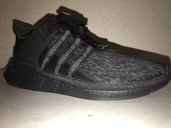 Adidas Eqt support 93/17 triple black