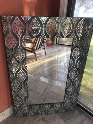 Large mosaic wall or accent mirror for Sale in North Providence, RI