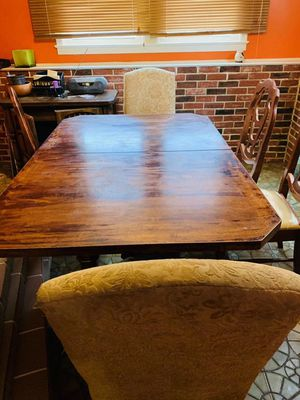 high end dinning table set for Sale in Fort Washington, MD