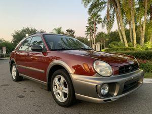 2002 Subaru Impreza Outback sport AWD Hatchback 2.5L for Sale in Orlando, FL