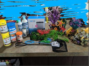 Fish tank and supplies for Sale in Oakley, CA