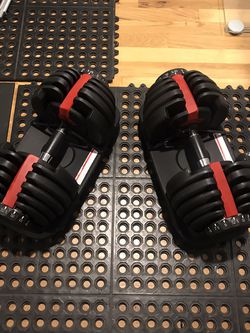 52.5lb Adjustable Dumbbells (generic) New for Sale in Snohomish,  WA