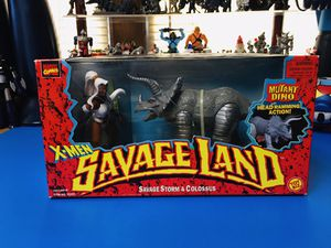 "X-Men Savage Land Savage Storm & Colossus 5""in Action Figures 1997 Toy Biz for Sale in Hawthorne, CA"