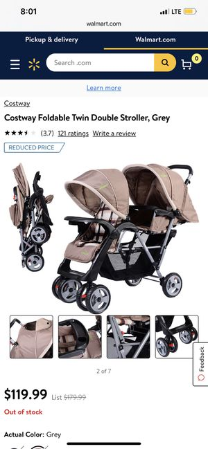 Double stroller for Sale in Romoland, CA