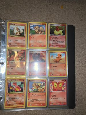 Pokémon Card Binder (old cards) for Sale in Anaheim, CA
