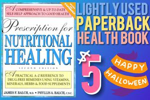Prescription for Nutritional Healing; 2nd Ed., Lightly Used Paperback Health & Medicine Book —$5 for Sale in Arlington, WA