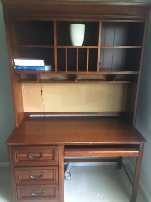 Student desk with hutch for Sale in South Riding, VA