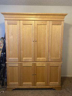 Pottery Barn Office Armoire for Sale in Mesa, AZ
