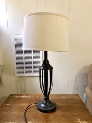MOVING SALE! Table lamp for Sale in Arlington, VA