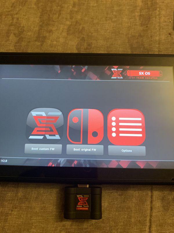 Nintendo SWITCH w/ SXOS