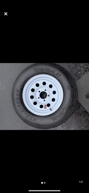 Trailer spare tire 215/75/14 5 lug new for Sale in Elizabethtown, PA