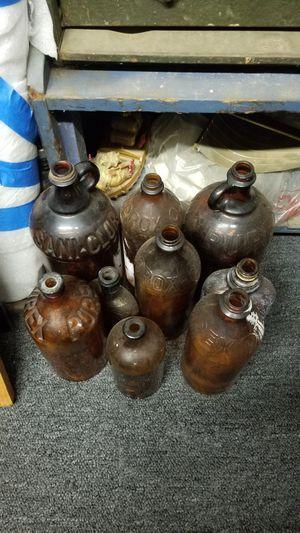 Antique Amber Bottles for Sale in Norwalk, CA