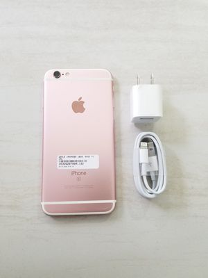 UNLOCKED IPHONE 6s 16GB ROSE GOLD, (THIS IS NOT THE PLUS) PERFECT CONDITIONS!!! PRICE IS FIRM !!! for Sale in Fort Lauderdale, FL