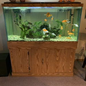 Wooden Fish Tank - Great Condition for Sale in Marysville, WA