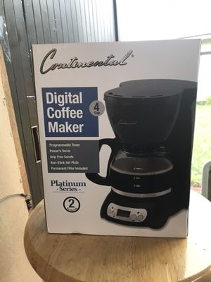 Continental Digital Coffee Maker for Sale in Fort Meade, FL