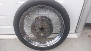 Harley Davidson motorcycle tires and wheels for Sale in Springville, UT