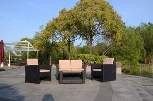 Bamboo Outdoor Garden Furnitures Set Buy One Set Get FREE Full Metal Table. for Sale in Corona, CA