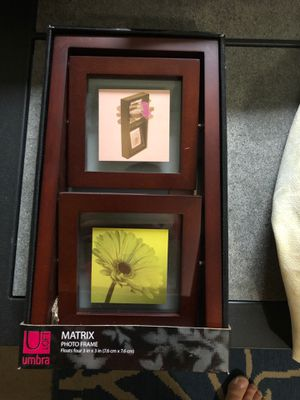 Matrix photo frame for Sale in St. Louis, MO
