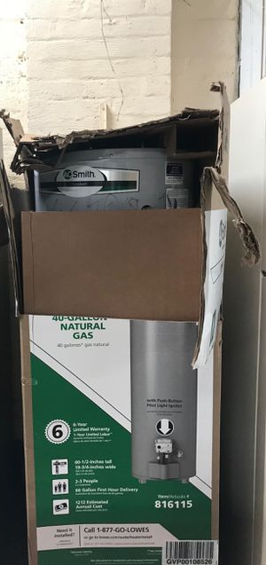 A.O. Smith 40 Gallon Gas Hot Water Tank for Sale in Garfield Heights, OH