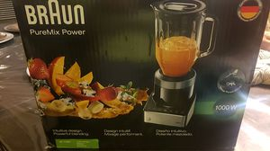 Braun puremix power blender with thermal resistant Glass Jug for Sale in Kissimmee, FL