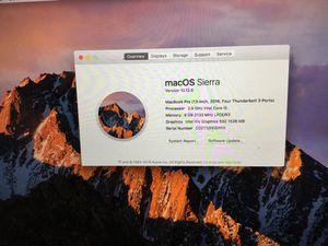 MacBook Pro 2016 for Sale in Las Vegas, NV