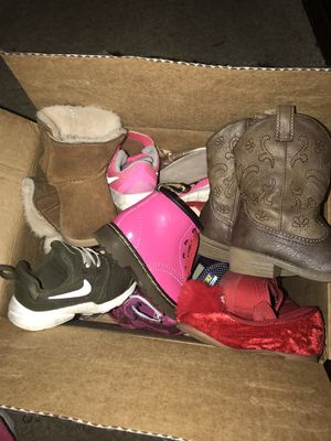 Toddler girls shoes for Sale in Florence, MS
