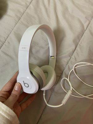 White Beats Solo 2 Wired for Sale in Davie, FL