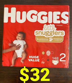 Huggies Diapers size 2 for Sale in Long Beach, CA