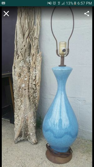 Antique glass lamp for Sale in Pasadena, MD