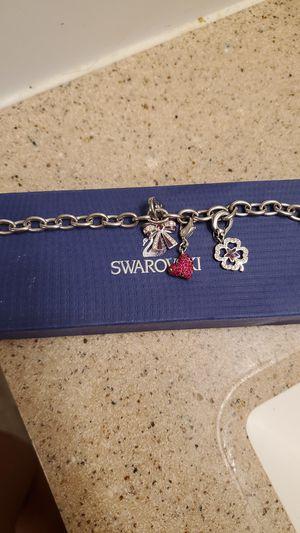 Swarovski charm bracelet for Sale in Hemet, CA