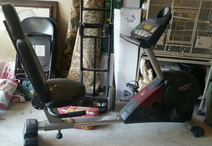 Recumbent Bike w/weights for Sale in Austin, TX