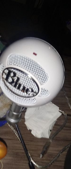 Blue mic for Sale in Brockton, MA