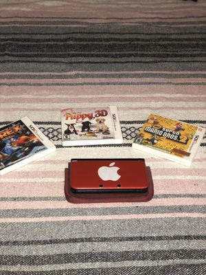 NINTENDO 3DS XL W/MARIO BROS & OTHER GAMES for Sale in Tampa, FL