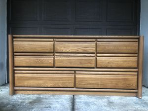 Eight Drawer Solid Wood Buffet for Sale in Clackamas, OR